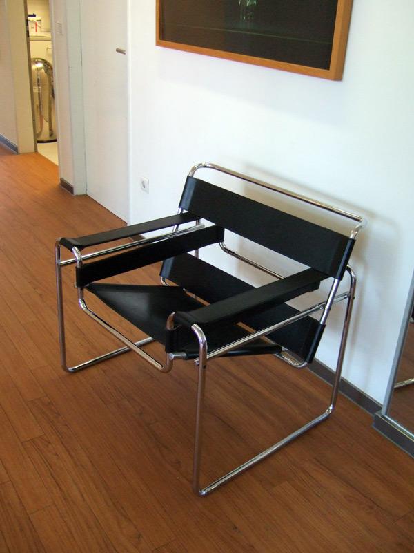 wassily stuhl vom marcel breuer stuhlwelt. Black Bedroom Furniture Sets. Home Design Ideas